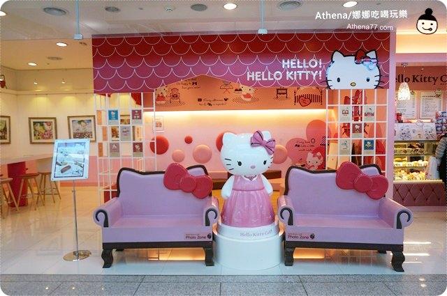 韓國 ▌Hello Kitty Cafe 凱蒂貓咖啡廳/헬로키티카페 #2014冬遊首爾(27)