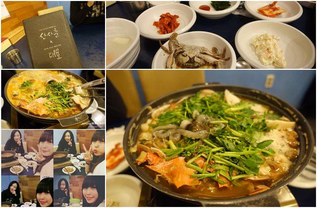 ▌韓國 ▌首爾食記 ♥ 弘大(K314)。마산달래아구찜的美味海鮮鍋/有整隻活章魚