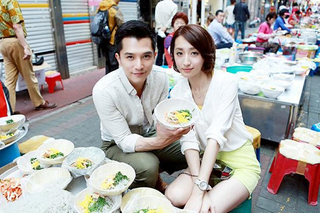 【必娶女人】邱澤、柯佳嬿-嘗試韓國市場小吃1 (1)