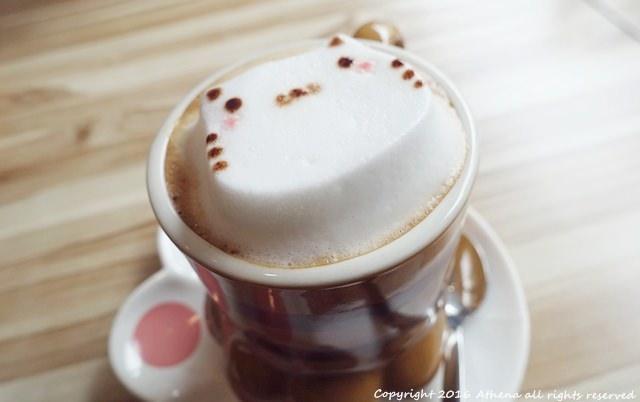 台北 ▌世貿101站 The Who Cafe框影咖啡 可愛貓咪立體拉花/不限時/WIFI