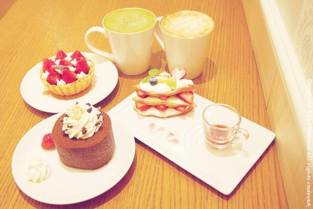 台北 ▌中山站 : 人氣甜點店 monteur cafe 夢甜屋 草莓季 滿滿的夢幻甜點