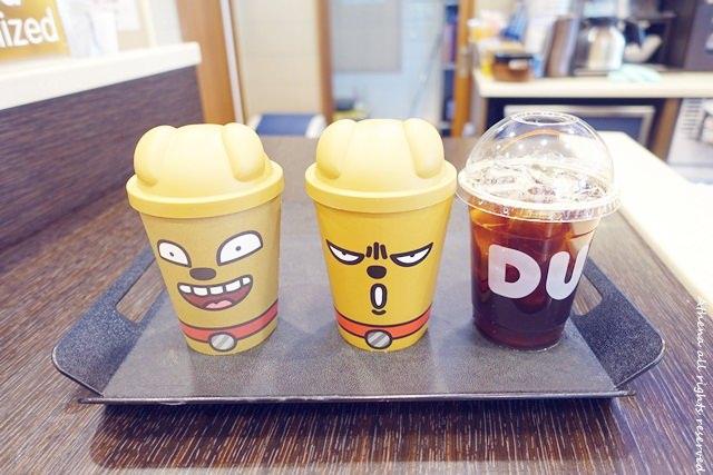 韓國 ▌韓國甜甜圈咖啡廳 Dunkin Donuts 可愛的小熊維尼♥ 15年期間限定!