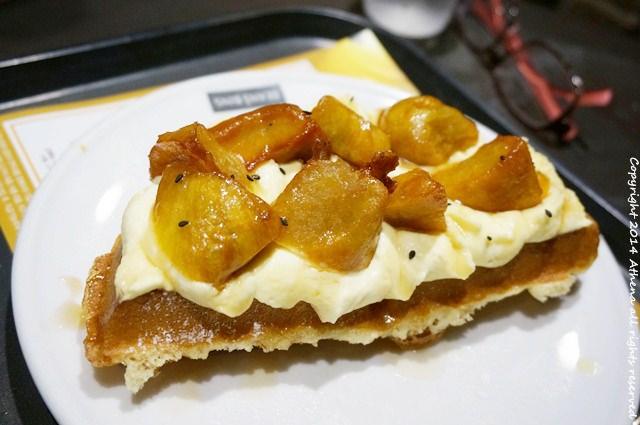 韓國首爾 ▌安國站 (328) : BEANS BINS三清店 特別好吃的地瓜鬆餅 附折價卷
