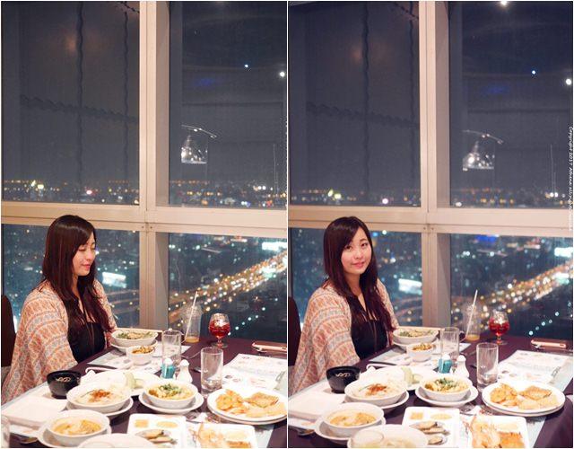 泰國 ▌曼谷 : Baiyoke Sky Hotel 曼谷天空自助餐 在高空欣賞曼谷夜景品嘗美食