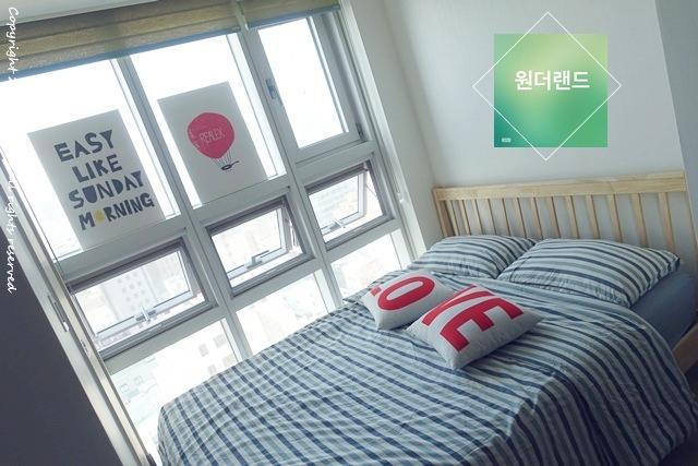 韓國 ▌首爾住宿推薦:明洞 Wonderland seoul 獨棟小房間 有自己的廚房