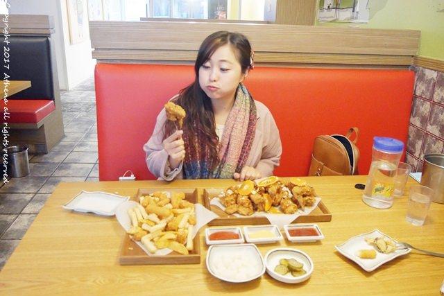 韓國 ▌濟州島自由行 : 댕규리네 댕귤치킨 在濟州島吃橘子炸雞 還有炸鮑魚:)