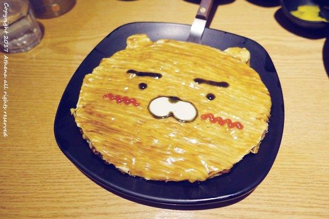 韓國 ▌首爾食記 : 上水站(623) 호노야 少女心大發!可愛Ryan圖案的鐵板燒