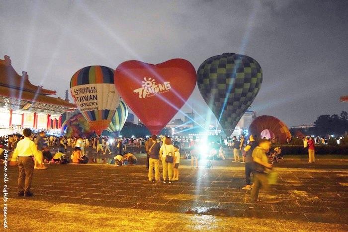 台北 ▌熱氣球 光雕音樂會 Taiwan Balloon Festival – 6/10台北ㄧ日快閃 (附2017台灣國際熱氣球嘉年華會的光雕音樂會 場次 地點 時間)