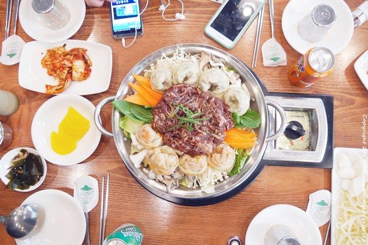韓國食記 ▌仁川美食:해미루 烤肉餃子湯 韓國電視台SBS MBC報導店 #近青蘿湖水公園