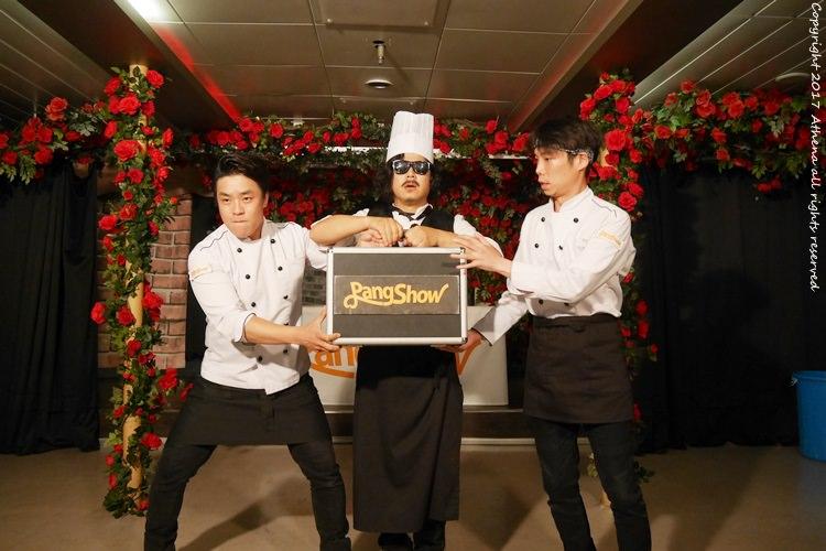 韓國首爾 ▌韓國漢江遊覽船麵包秀Bang Show 自己DIY做麵包 適合親子旅行 好吃又好玩
