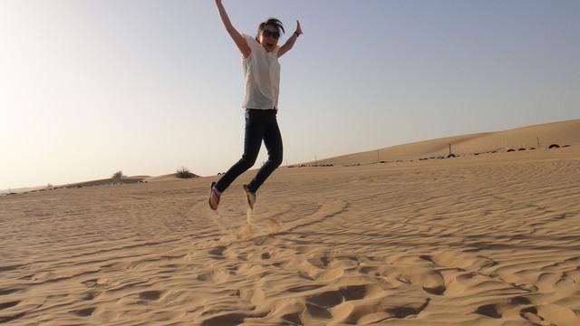 杜拜 ▌杜拜必玩:沙漠飆沙體驗!!Desert Safari《Iris專欄》