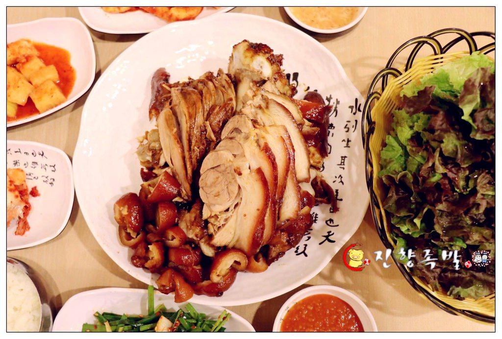韓國首爾 ▌鐘路五街站(129):진향족발璡向豬腳 好吃的豬腳專賣店 有中文菜單 說中文店員《加小菲專欄》