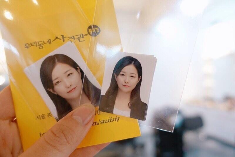韓國首爾 ▌鐘閣站(131) 韓國證件照拍攝 우리동네사진관 化妝髮型全包 成果超滿意