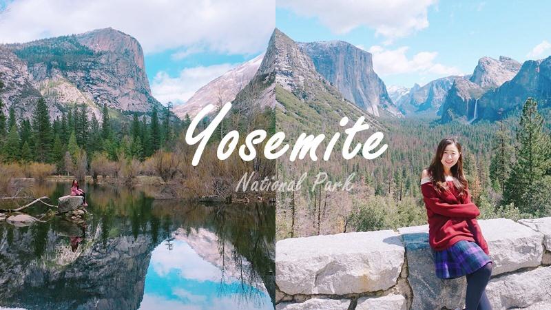美國旅行 ▌人間仙境!隨便拍都超美明信片 優勝美地國家公園一日遊 真的此生必去 ♡ Yosemite National Park Local Tour 推薦 #舊金山出發 當天來回 免自駕