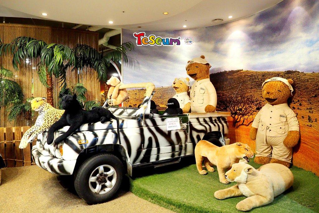 韓國濟州島 ▌Teseum泰迪熊博物館테디베어사파리 超可愛泰迪熊隨你拍《加小菲專欄》