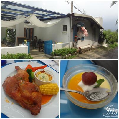 桃園景觀餐廳 ▌七號公路~隱藏在台七線上的小希臘《Iris專欄》