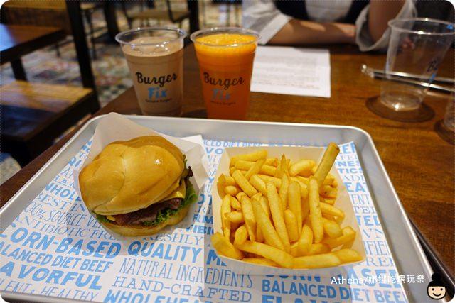 ▌食記 ▌台北大安。忠孝敦化站|全民瘋美國薯條「Burger Fix」餐點分享