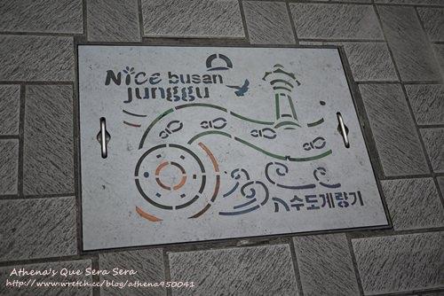 │韓國│釜山。南浦洞남포동街景壁畫+小吃 / 辣炒年糕、飯捲等等