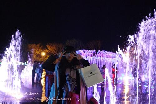 韓國 ▌釜山自由行 : 多大浦音樂噴泉다대포 꿈의 낙조분수 噴水很漂亮 #小影音