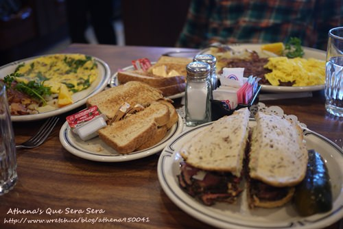 │美國│美西之旅Day5-1:Langer's Delicatessen-Restaurant營養滿分的元氣早餐