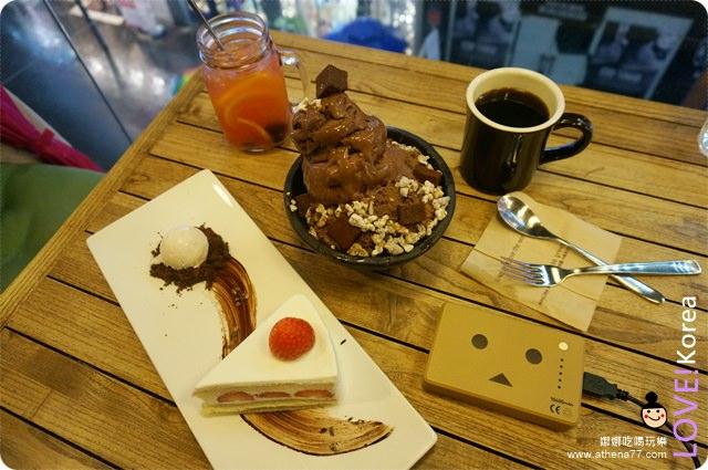 韓國 ▌首爾自由行 : 明洞|巧克力甜點cacao green 카카오그린 #2014冬遊首爾(18)