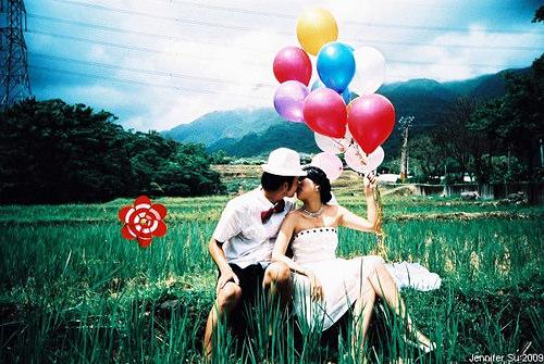 │分享│幸福感動的LOMO婚紗