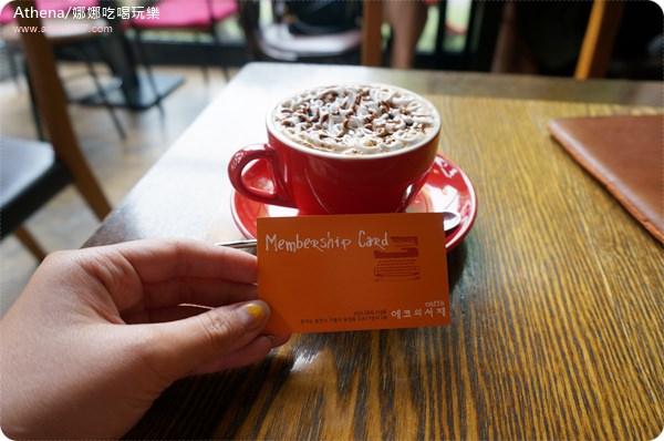 │韓國│2014!夏遊,Seoul (10)。京畿道景點 / 韓國咖啡街推薦:寶亭竹咖啡街 에코의서재 ♥