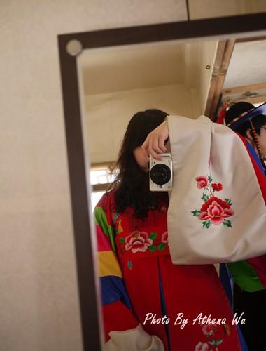 韓國 ▌首爾自由行 : 南山韓屋村。韓服體驗 質感很好 #2011首爾旅行(16)