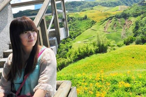 │旅遊│花東熱氣球之旅Day2-2:花蓮六十石山(德森有機農莊)-滿滿的金針花海-